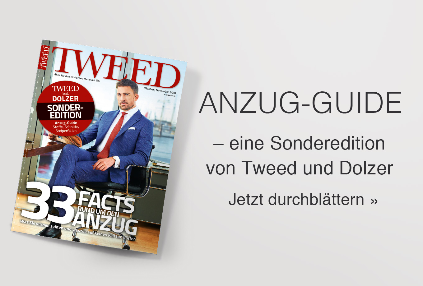 Sonderedition vom Tweed Magazin