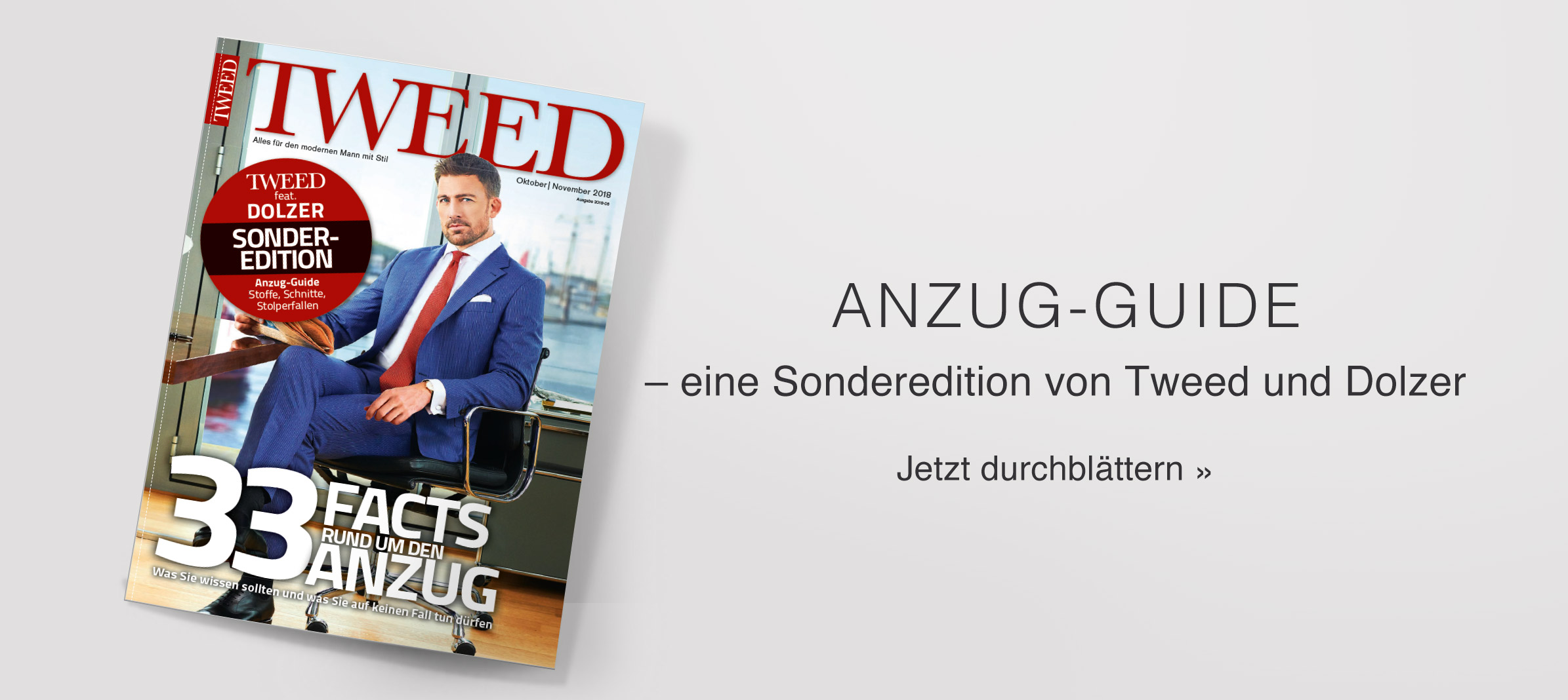 Tweed Anzug-Guide