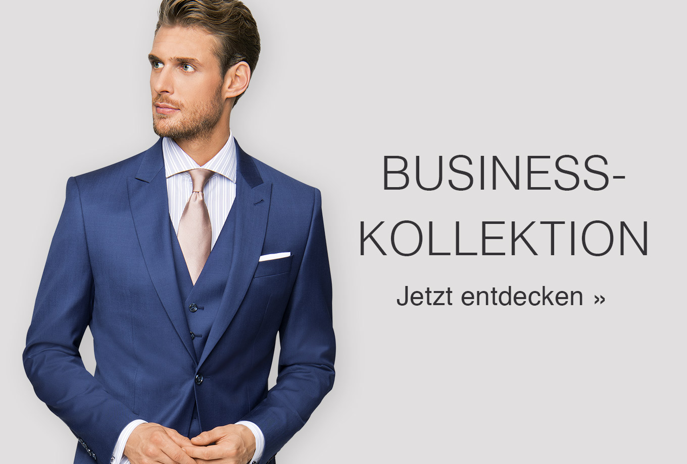 Business-Kollektion nach Maß für Herren