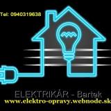 Elektrikár – Juraj Bartek, Domáci majster - Bratislava