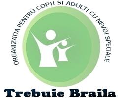 Organizatia pentru Copii si Adulti cu Nevoi Speciale TREBUIE! filiala Braila logo