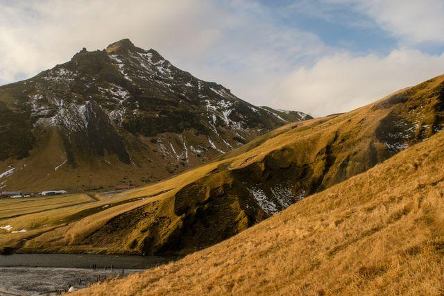Iceland, Hillside