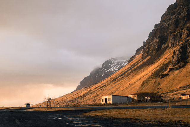 Iceland, Sunlit