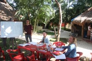 我们位于PLAYA DEL CARMEN的西班牙语学校 DQ 9