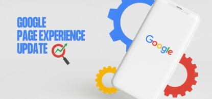Google page update blogpost header