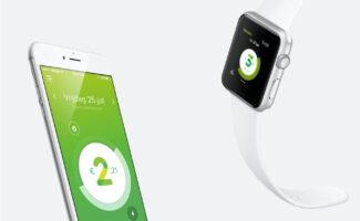 Engie smartphone app index header