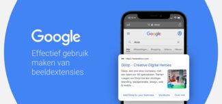 Google Beeld Extensies Blog