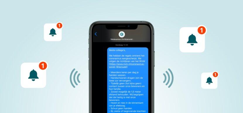Zorgoplossing Bulk SMS 2x