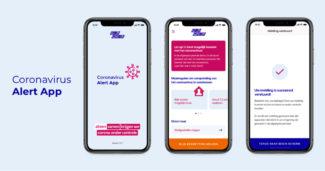 Corona app Design 2x