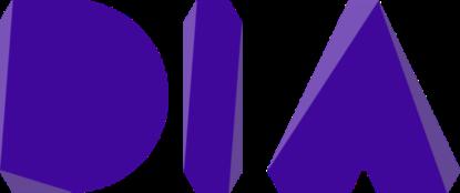 DIA logo Paars
