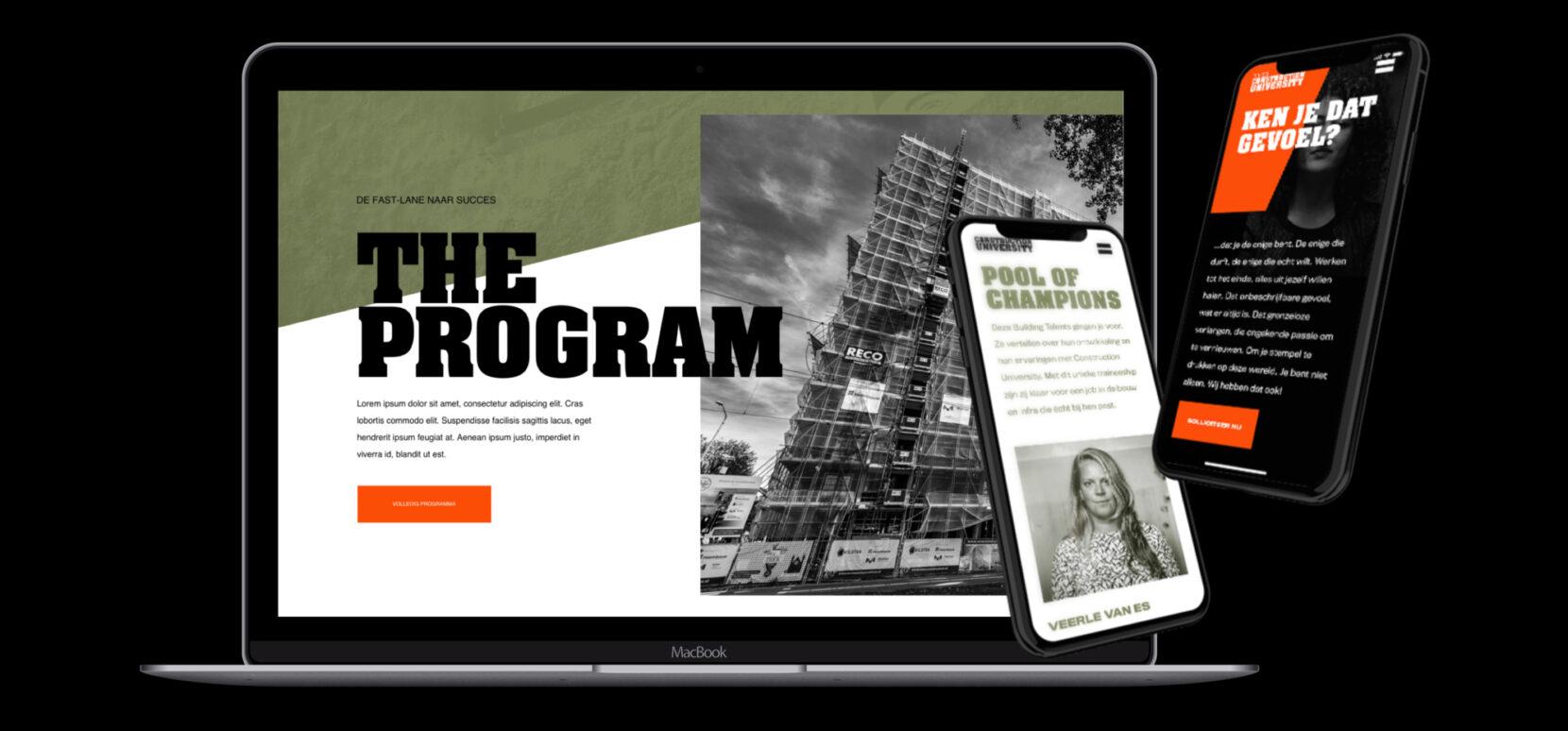 Building heroes web