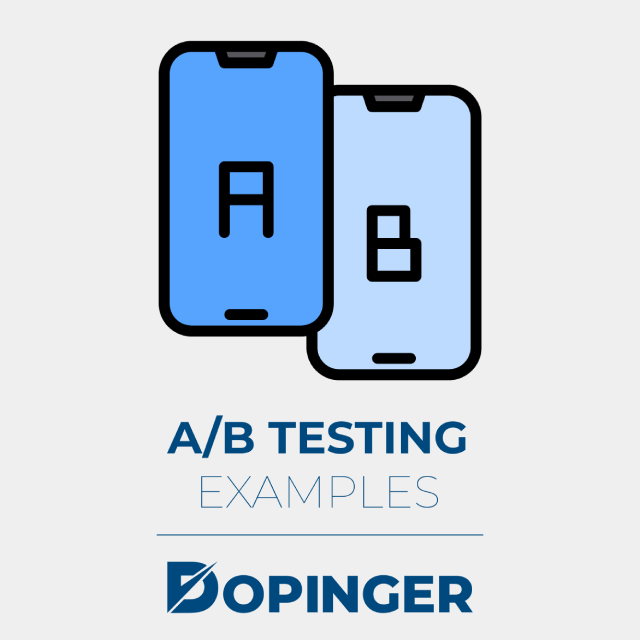 ab testing examples
