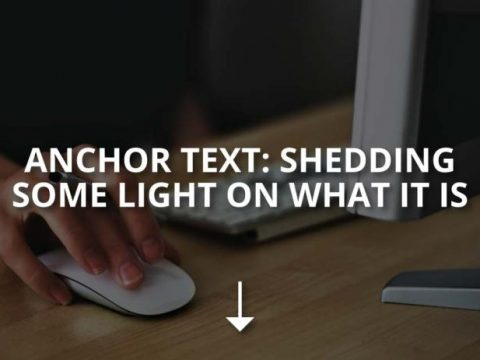 Anchor Text: Shedding Some Light on What Is It
