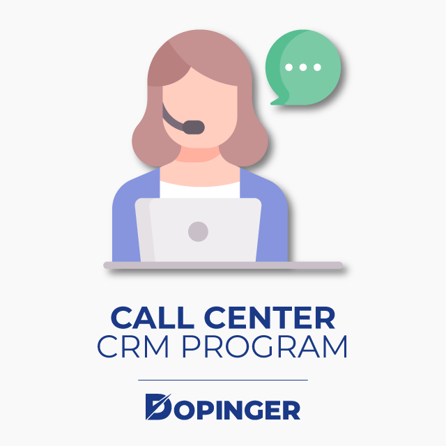 Call Center CRM Program