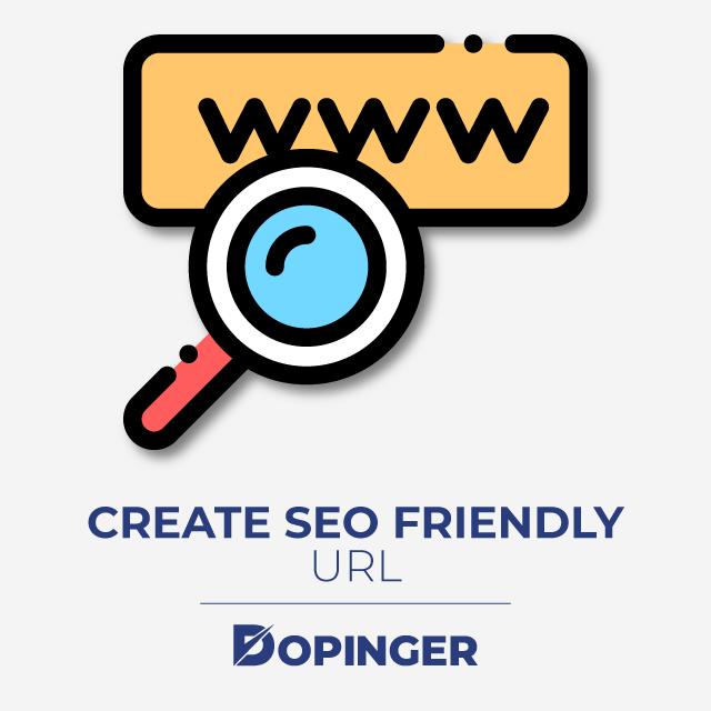 create seo friendly url