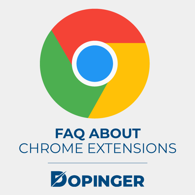 faq about chrome extensions