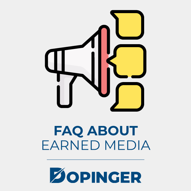 faq about earned media