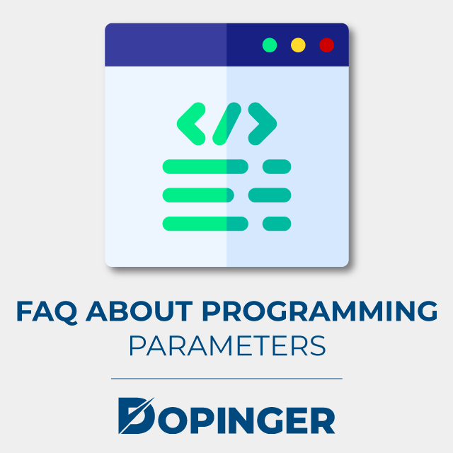 faq about programming parameters