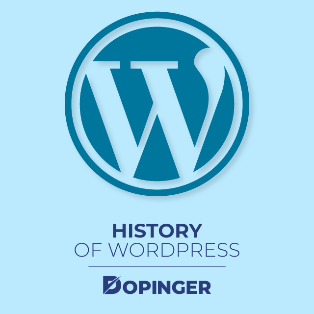 WordPress History