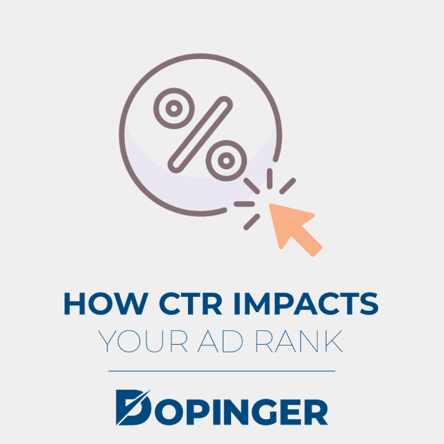 how ctr impacts your ad rank
