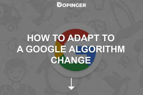 How to Adapt to a Google Algorithm Change