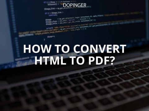 How to Convert HTML to PDF? (Easy Guide)