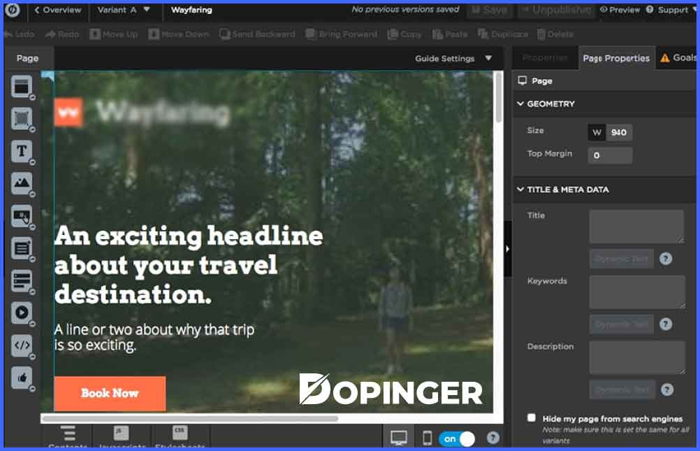 How to Create a Landing Page in Unbounce