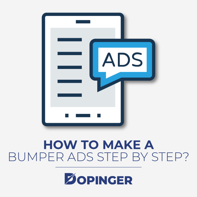 how to make a bumper ad step by step