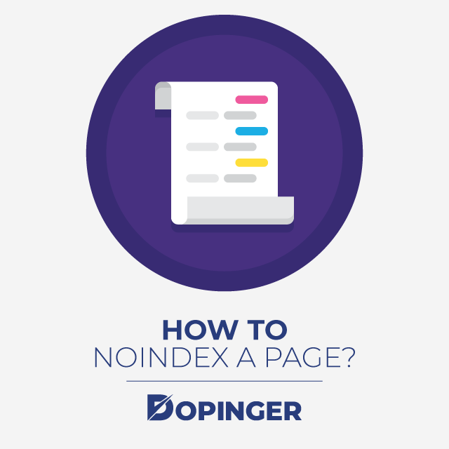 How to Noindex a Page