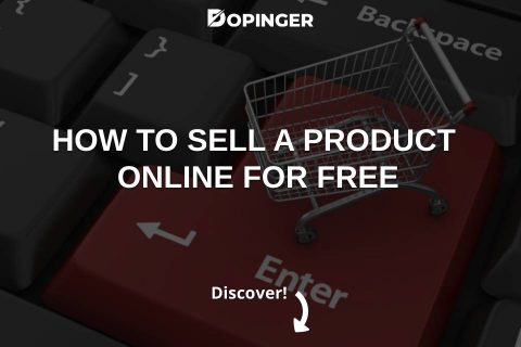 How to Sell a Product Online for Free