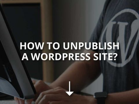 How to Unpublish a WordPress Site