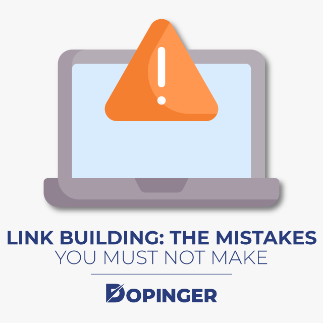 link building the mistakes you must not make