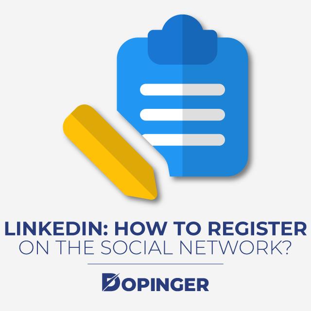 linkedin how to register on the social network