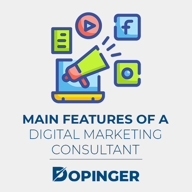 main features of a digital marketing consultant