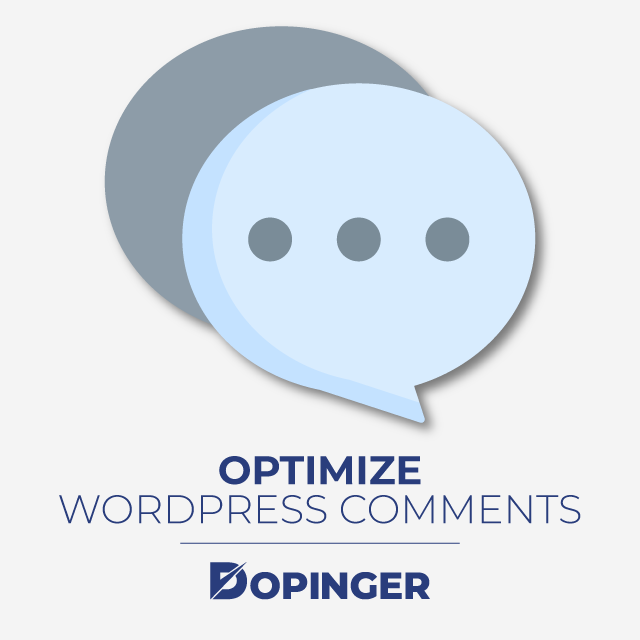 Optimize Your WordPress Comments