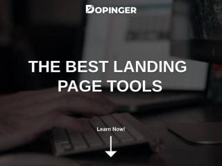 The Best Landing Page Tools