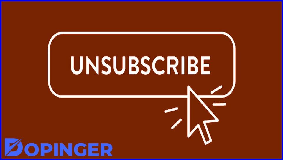 unsubscribe linkedin
