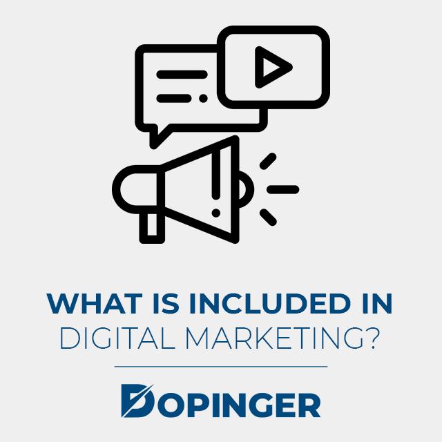 digital marketing fields