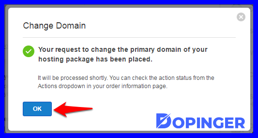 when should a domain be changed