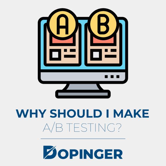 why should i make ab testing