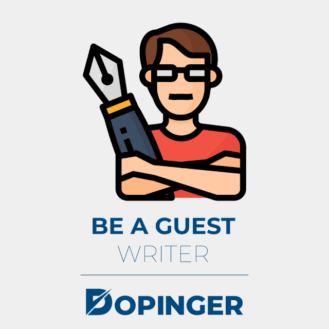 be a guest writer to promote your website
