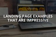 Landing Page Examples That Are Impressive