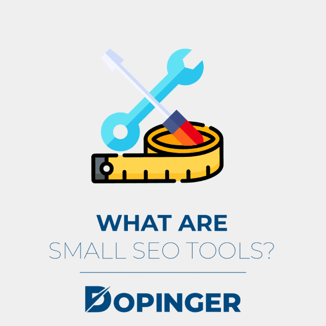 what are small seo tools