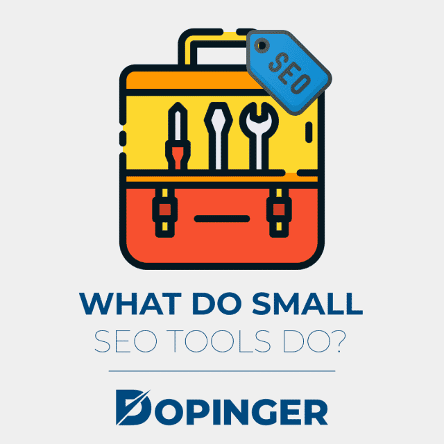 what do small seo tools do