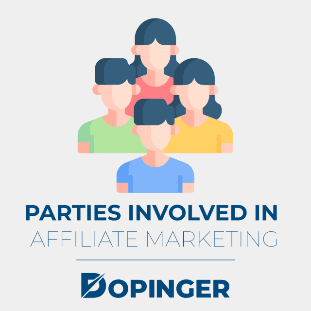 parties involved in affiliate marketing