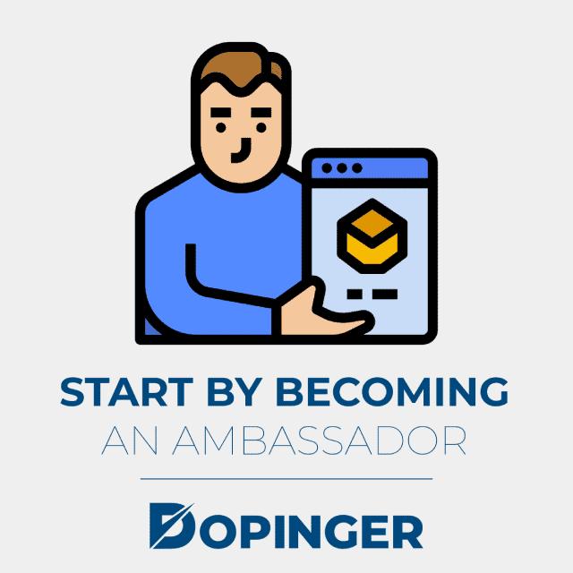 start by becoming an ambassador