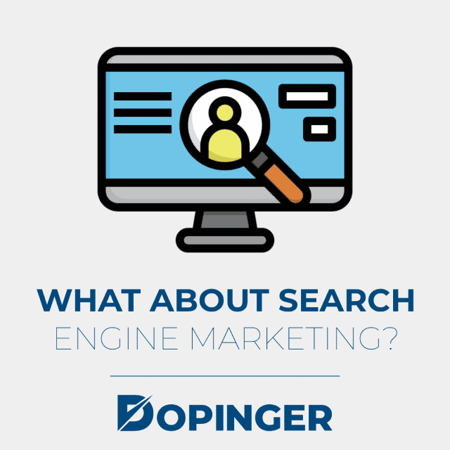 what about search engine marketing