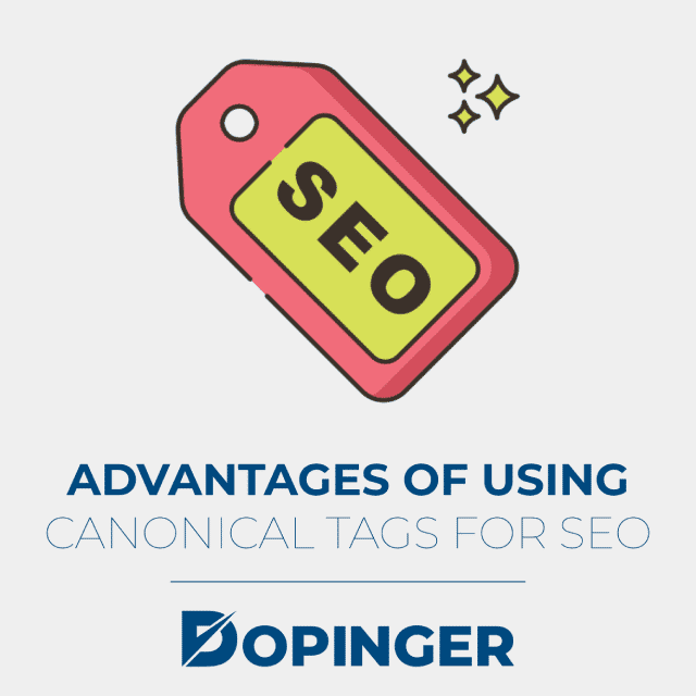 adntages of using canonical tags for seo