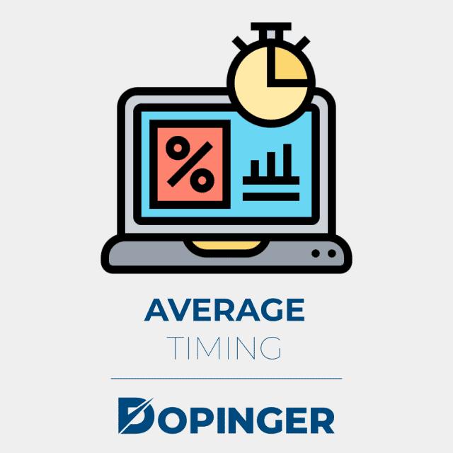 average timing