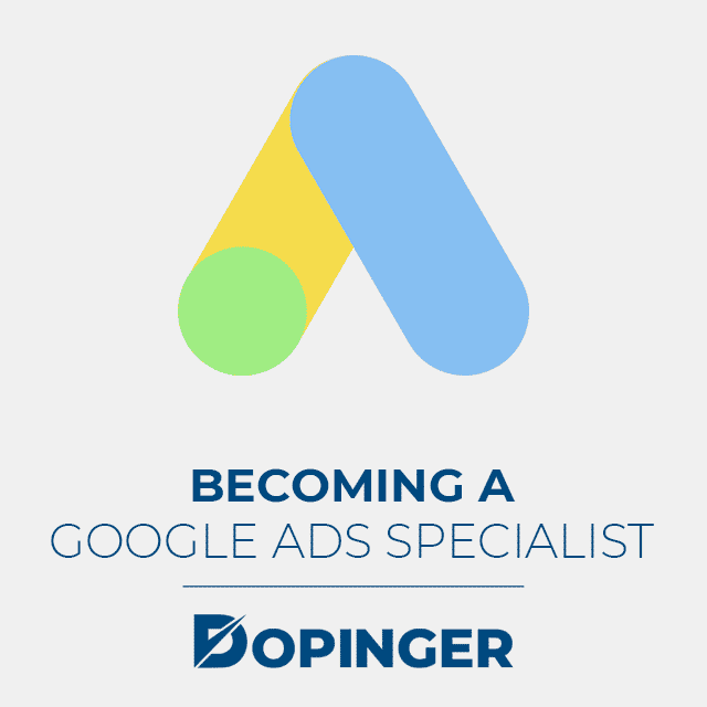 becoming a google ads specialist